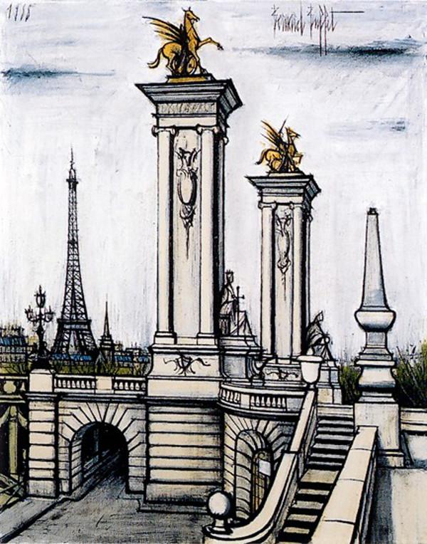 Art et glam paris peint par bernard buffet for Buffet bernard