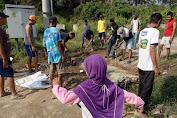 Di Tinggal Pengembang, Warga Ranau Estate Lakukan Pembangunan Secara Swadaya