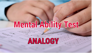 Mental Ability(Reasoning) Test in Bengali | Analogy | Part-1