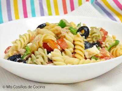 http://www.miscosillasdecocina.com/2016/08/ensalada-de-pasta.html