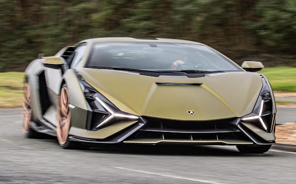 Lamborghini Sián FKP 37 híbrido traz supercapacitor no lugar de bateria