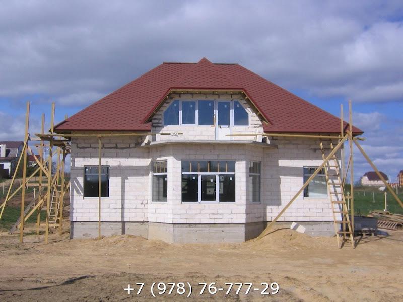 Строительство домов в Крыму из газобетона