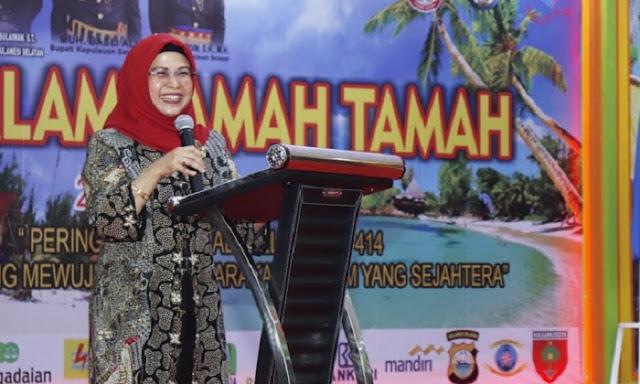 Siti Nur Azizah: Saya Harap Semangat Religius Nasionalis Menjadi Identitas Selayar