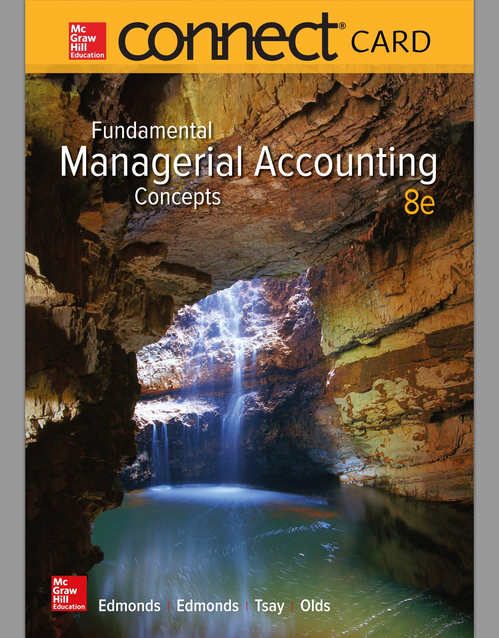 Fundamental Managerial Accounting Concepts 8th Edition