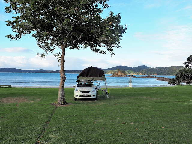 Campsites Bay of Island Neuseeland