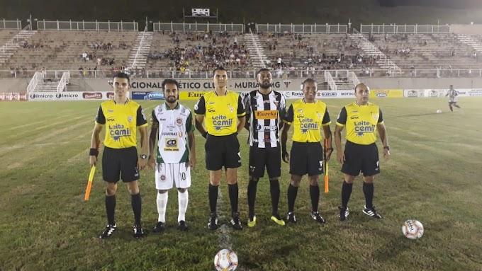 Ipatinga sofre dois gols relâmpagos nos instantes finais e acaba derrotado pelo Nacional em Muriaé