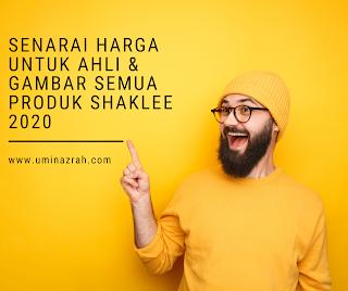 Senarai Harga Untuk Ahli & Gambar Semua Produk Shaklee 2020