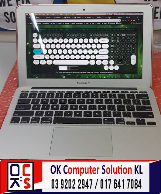 [SOLVED] MASALAH MACBOOK AIR NO DISPLAY | REPAIR LAPTOP AMPANG 4
