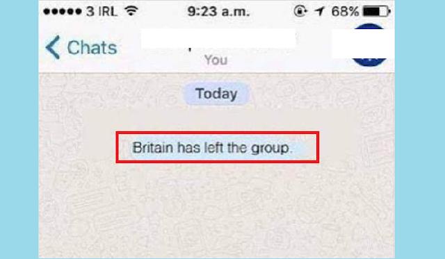 Notifikasi Keluar Grup WA