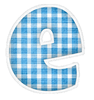 Lindo Alfabeto con Diferentes Texturas o Papeles.