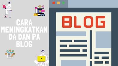 Cara Mudah Menaikan DA PA Blogspot Dengan Spam Komen