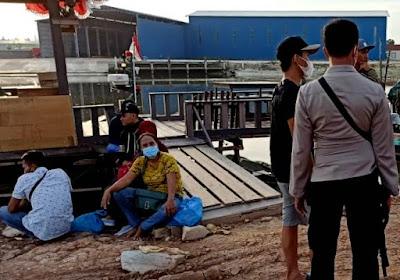 Lima Calon PMI Ilegal Dipulangkan Polda Kepri ke Kampung Halamannya