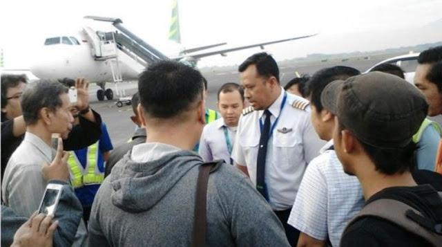Pihak Citilink mengklarifikasi dan menyampaikan permohonan maaf kepada penumpang