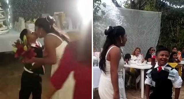 Женщина вышла замуж за мальчика: фотографии свадьбы повергли в шок весь мир!!!