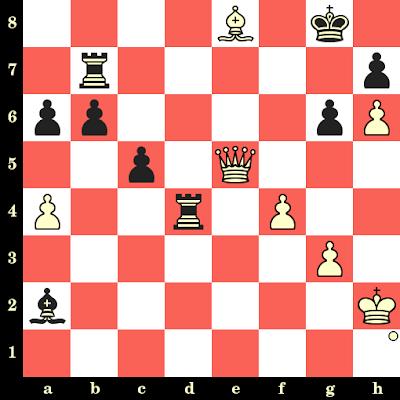 Les Blancs jouent et matent en 4 coups - Ding Liren vs Dmitry Jakovenko, Shenzhen, 2019