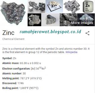 Zinc Untuk Menghilangkan Jerawat