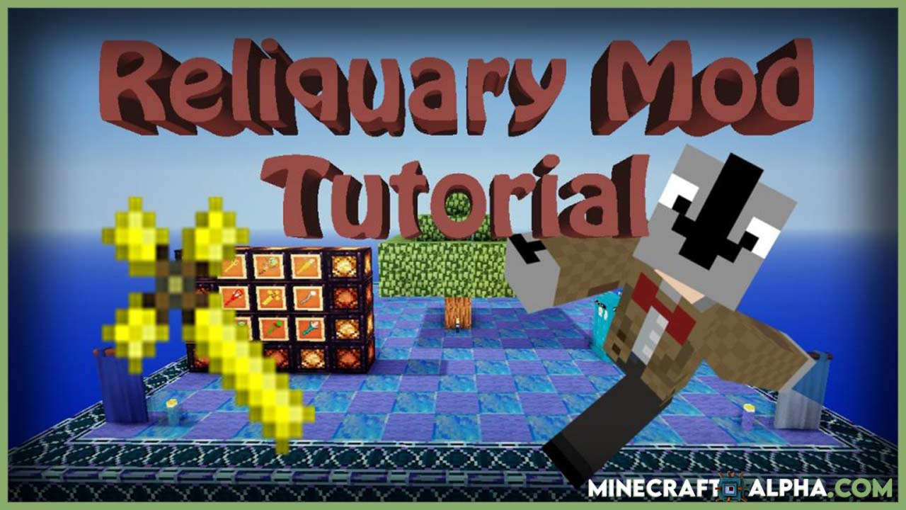 Minecraft Reliquary Mod 1.16.5 (New Items and Weapons)