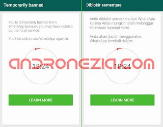 Cara Mengatasi WhatsApp Diblokir Sementara