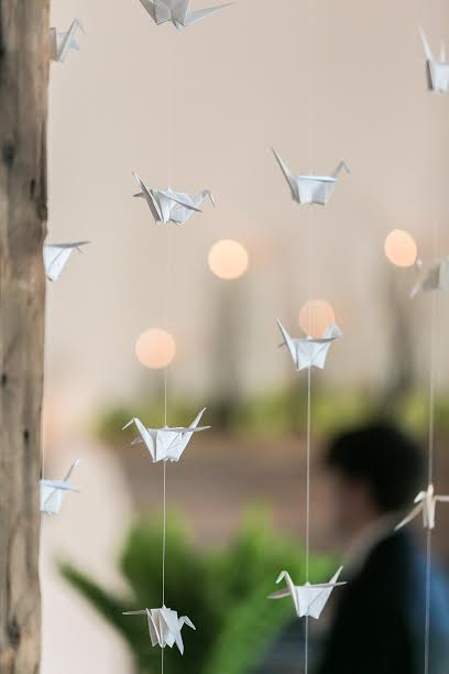 Origami Crane Wedding Decor