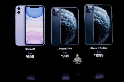 Harga iPhone 11, 11 Pro dan 11 Pro Max