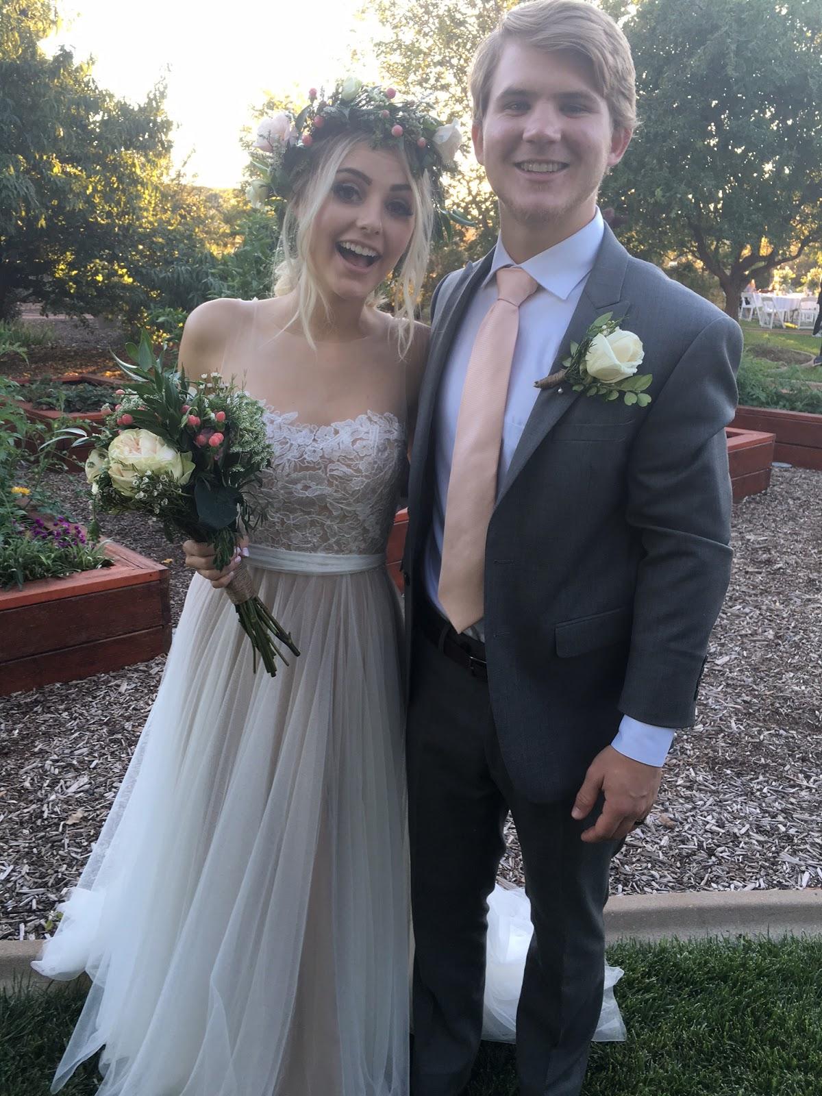 Brock And Rissa: Aspyn + Parker's Wedding