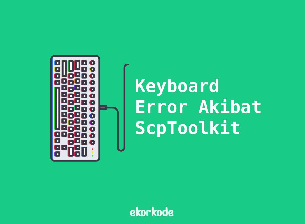 keyboard error
