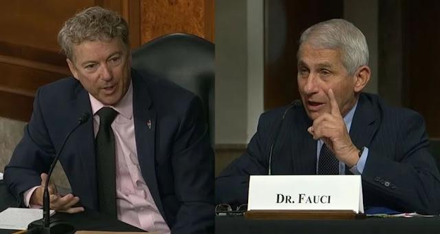 Rand Paul demolisce Antony Fauci