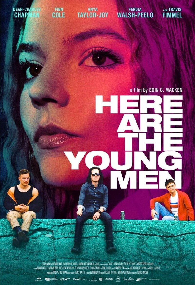 Here Are the Young Men poster