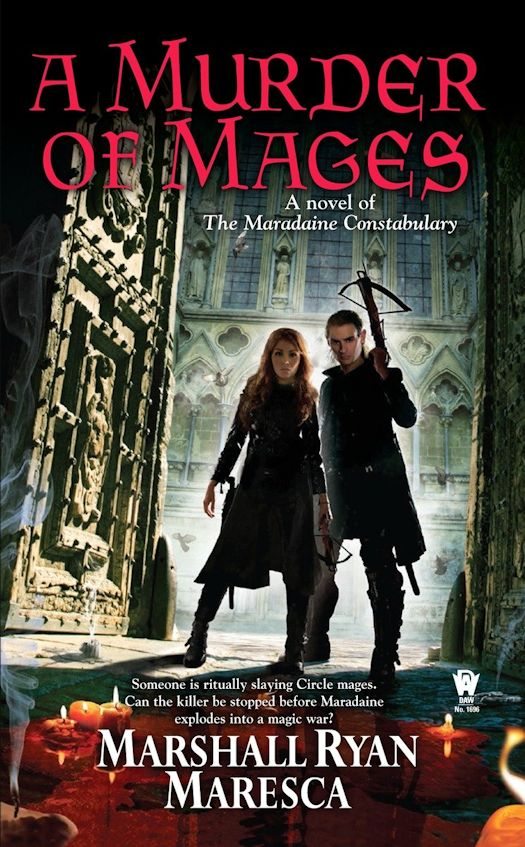 Review: A Murder of Mages by Marshall Ryan Maresca