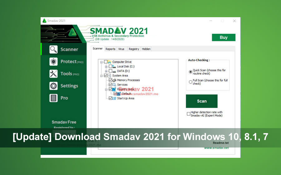 [Update] Download Smadav 2021 for Windows 10, 8.1, 7