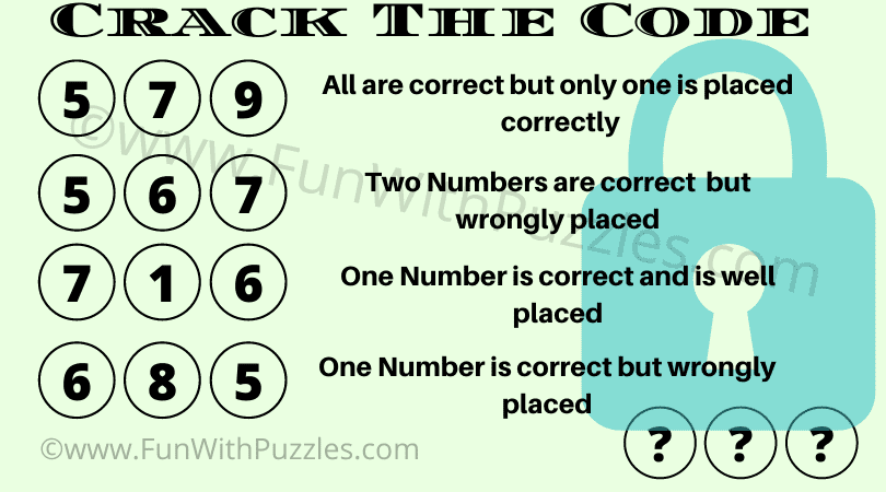 Can you crack the 3-digit code?