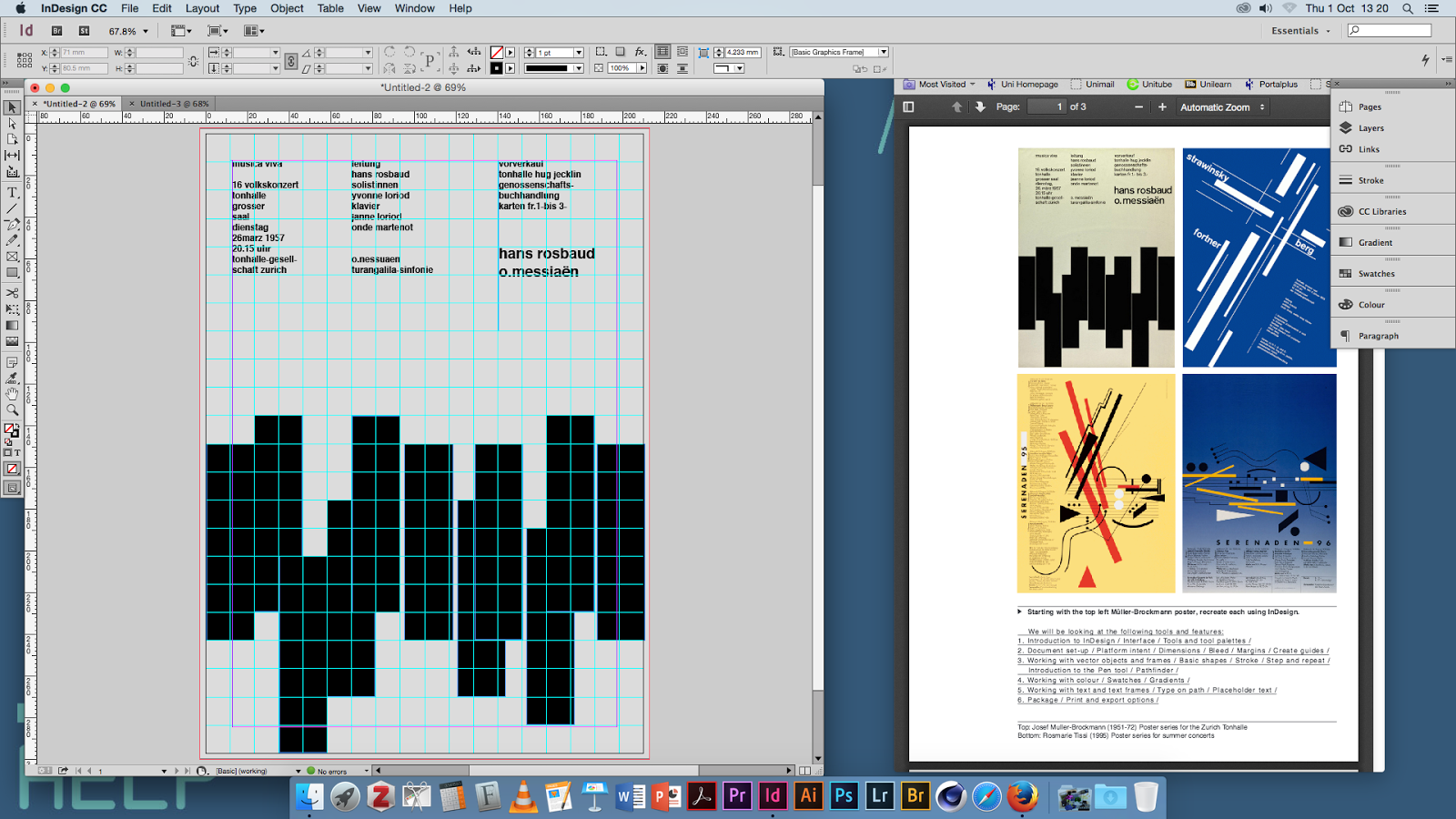Dorian OlteanuBlog: Adobe Creative Cloud Process: Indesign