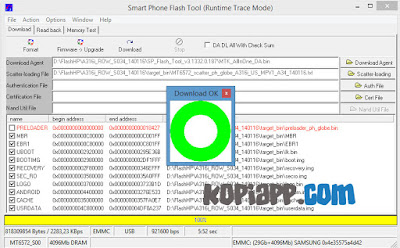 Cara Flash Lenovo A316i work 100% dengan flashtool