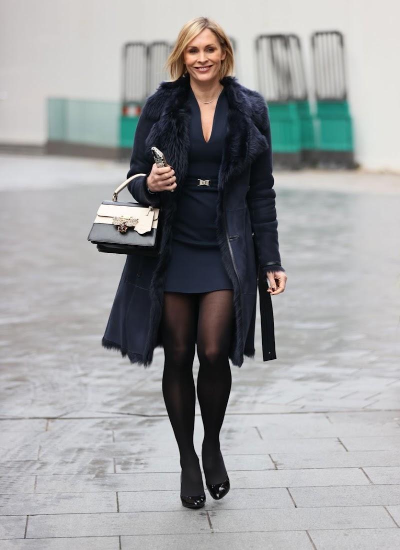 Jenni Falconer Spotted At Smooth Radio in London  20 Nov-2020