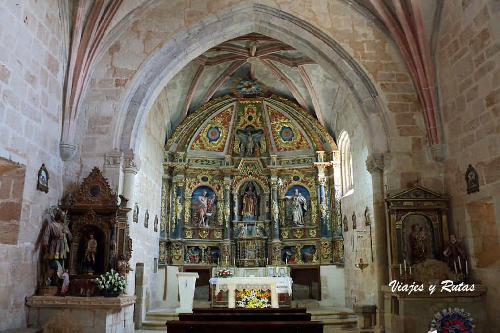 Interior de Iglesia de San Vicente, Vega de Bur
