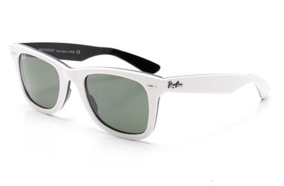 3b5c313200 free shipping ray ban sunglasses white wayfarer 5d2b8 6641f