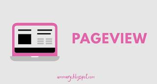 Pageview adalah