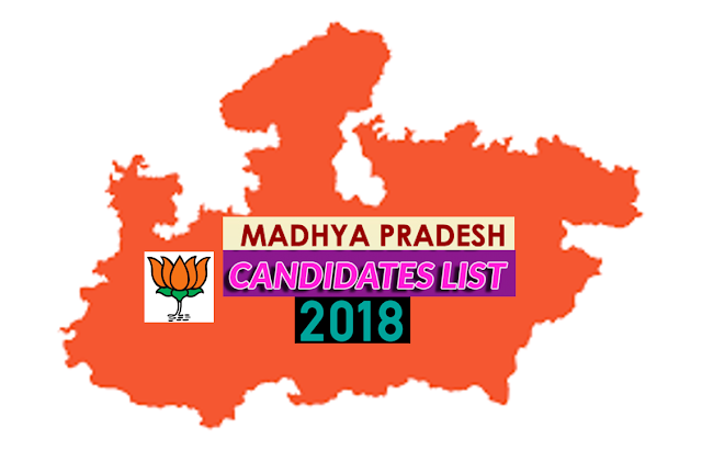 Madhya Pradesh 2018 BJP Candidate List - Mobile Apps Collection