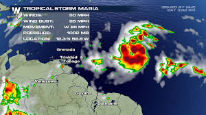 After Typhoon Irma the Caribbean islands are waiting for Tropical Hurricane Maria and Hurricane Jose