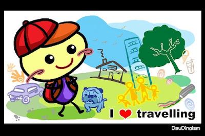 I love travelling