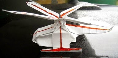 3 Easy Paper Flying Helicopter || Origami Helicopter || DIY - YouTube | 189x385