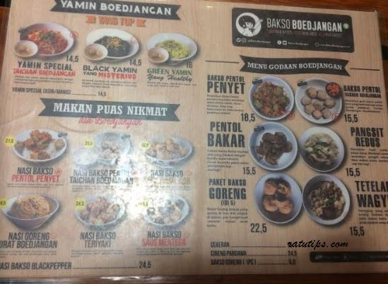 Review Menu Enak di Bakso Boejangan, Enak, Murah dan Worth it!