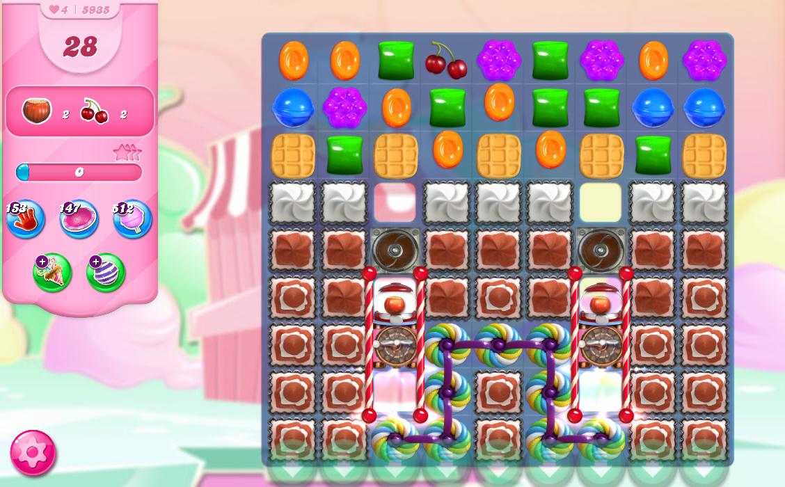 Candy Crush Saga level 5935