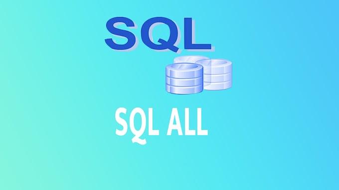 SQL ALL