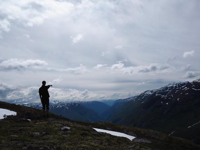 údolí Utladalen, výhled, Norsko, Jotunheimen, příroda, trek, turistika, klid