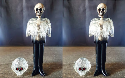 Clear Skele-Ghoul Vinyl Figures by Justin Ishmael x Craig Gleason