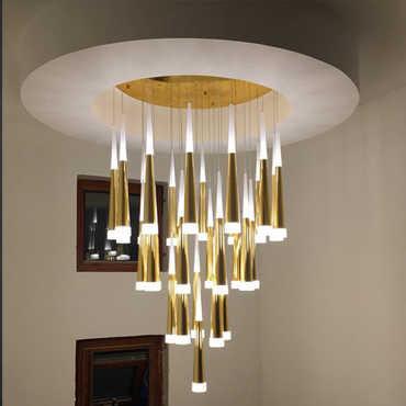 Nên sử dụng những loại đèn trang trí nào cho trần nhà cao