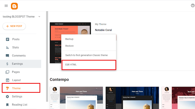 How To Remove 'Powered By Blogger' Footer Credit In Blogger