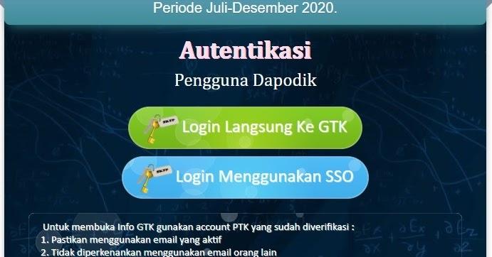 Penjelasan Fitur Baru Info GTK 2020/2021 - wasito.INFO