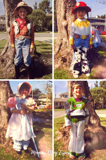 Homemade Disney Toy Story Kids Costumes